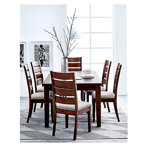 Juego de comedor mica new martini con 6 sillas for Juego comedor pequea o