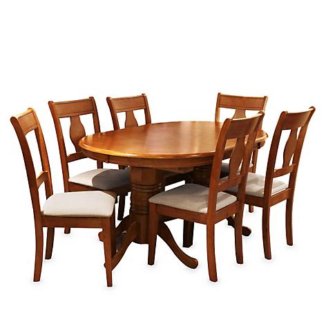 Juego de comedor mica valerie 6 sillas for Comedores falabella chile