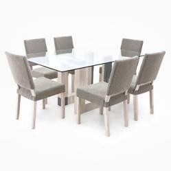 Juego de Comedor Arezzo 6 sillas