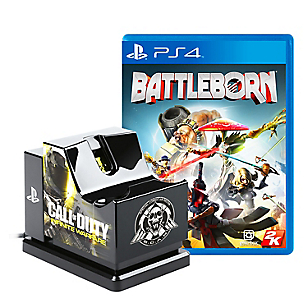 Juego PS4 Battleborn + Cargador DS4 Call of Duty